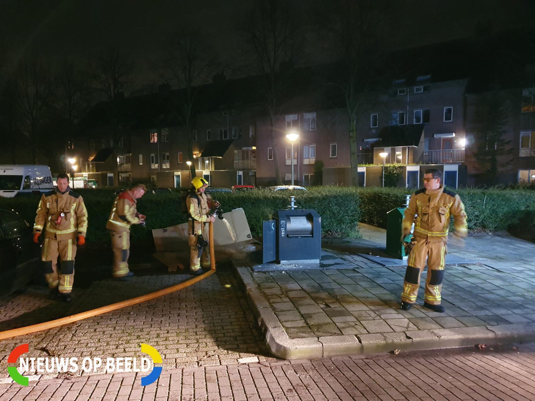 Meerdere containerbranden in korte tijd Latijns-Amerikalaan Delft