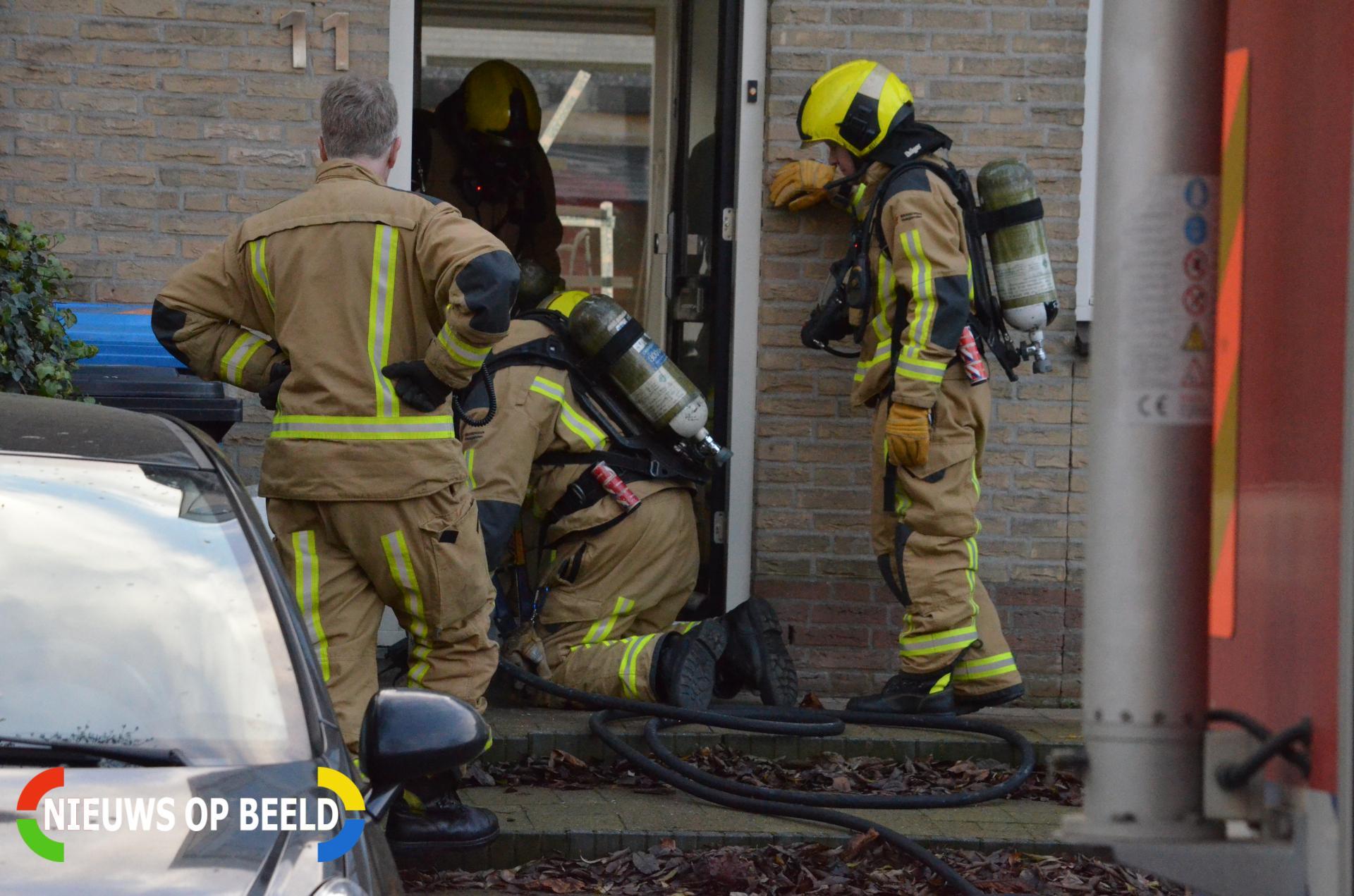 Brandje in kruipruimte snel onder controle Freule van Dorthsingel Pijnacker