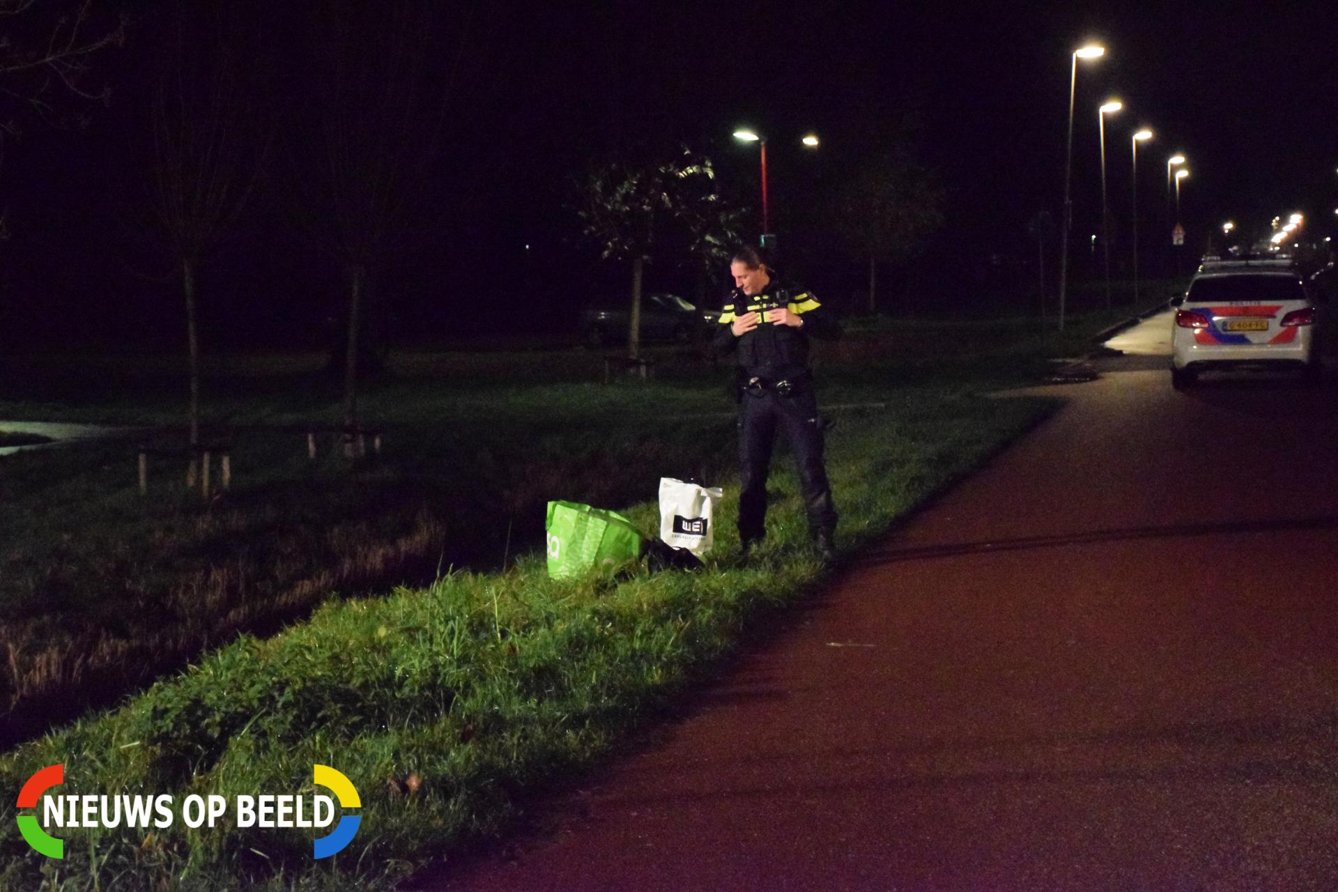 Gedumpte spullen zorgt voor forse inzet hulpdiensten Broekwegschouw Zoetermeer