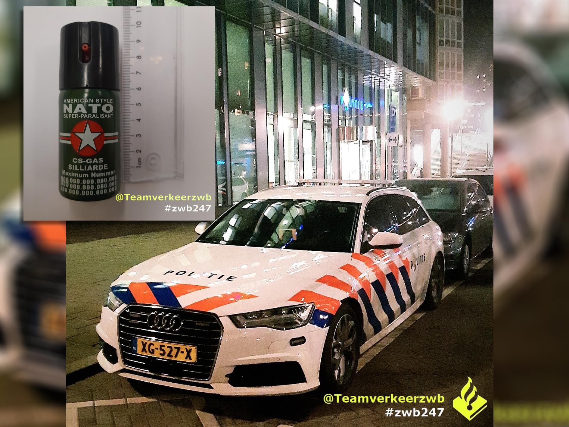Belgische automobilist aangehouden na meerdere overtredingen op A16