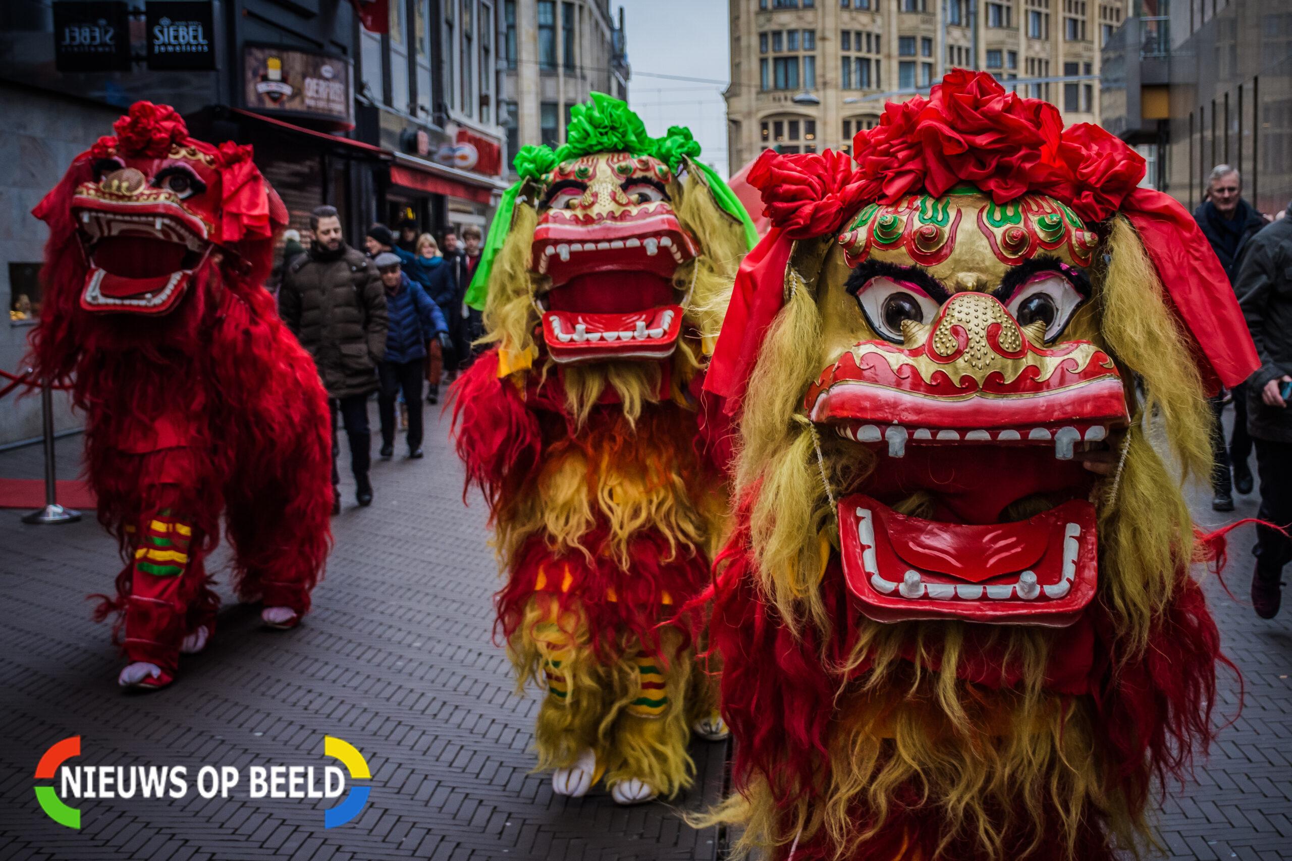 Chinees Nieuwjaar feestelijk ingeluid in Den Haag