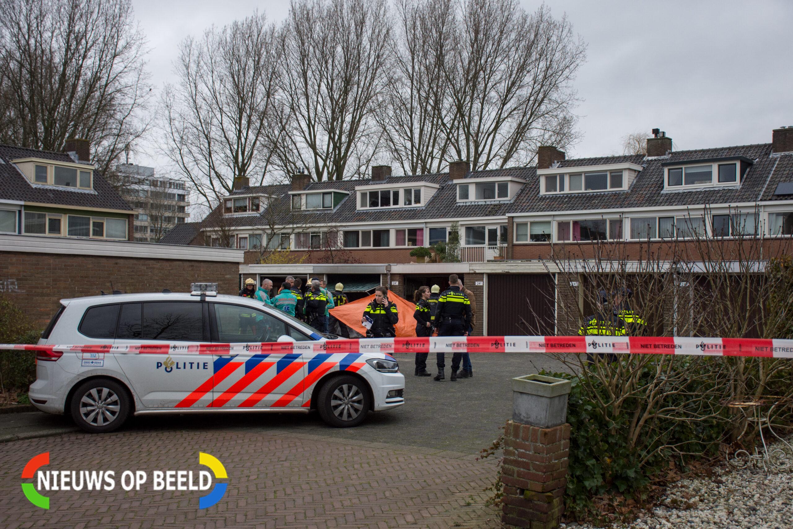 Man (82) overlijdt bij brand in Voorschotense garagebox