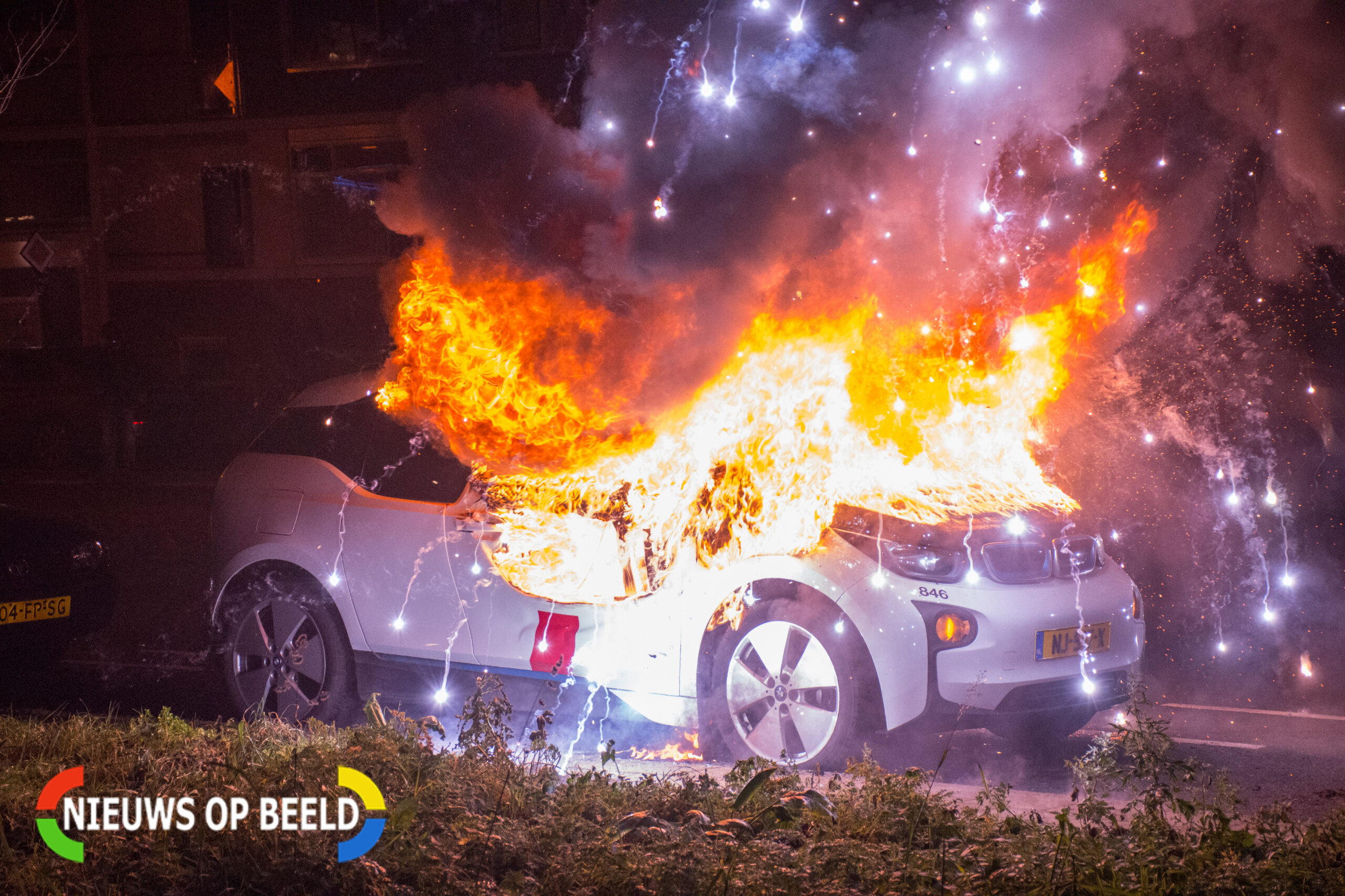 Jaarwisseling relatief rustig verlopen in Den Haag; Wel stijging voertuigbranden