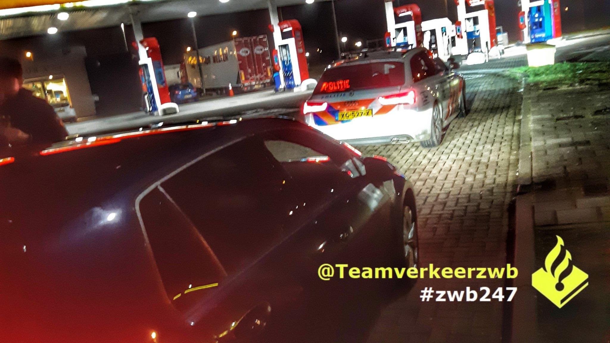Politie houdt Schiedammer aan voor snelheid van 209km/u A16 Breda