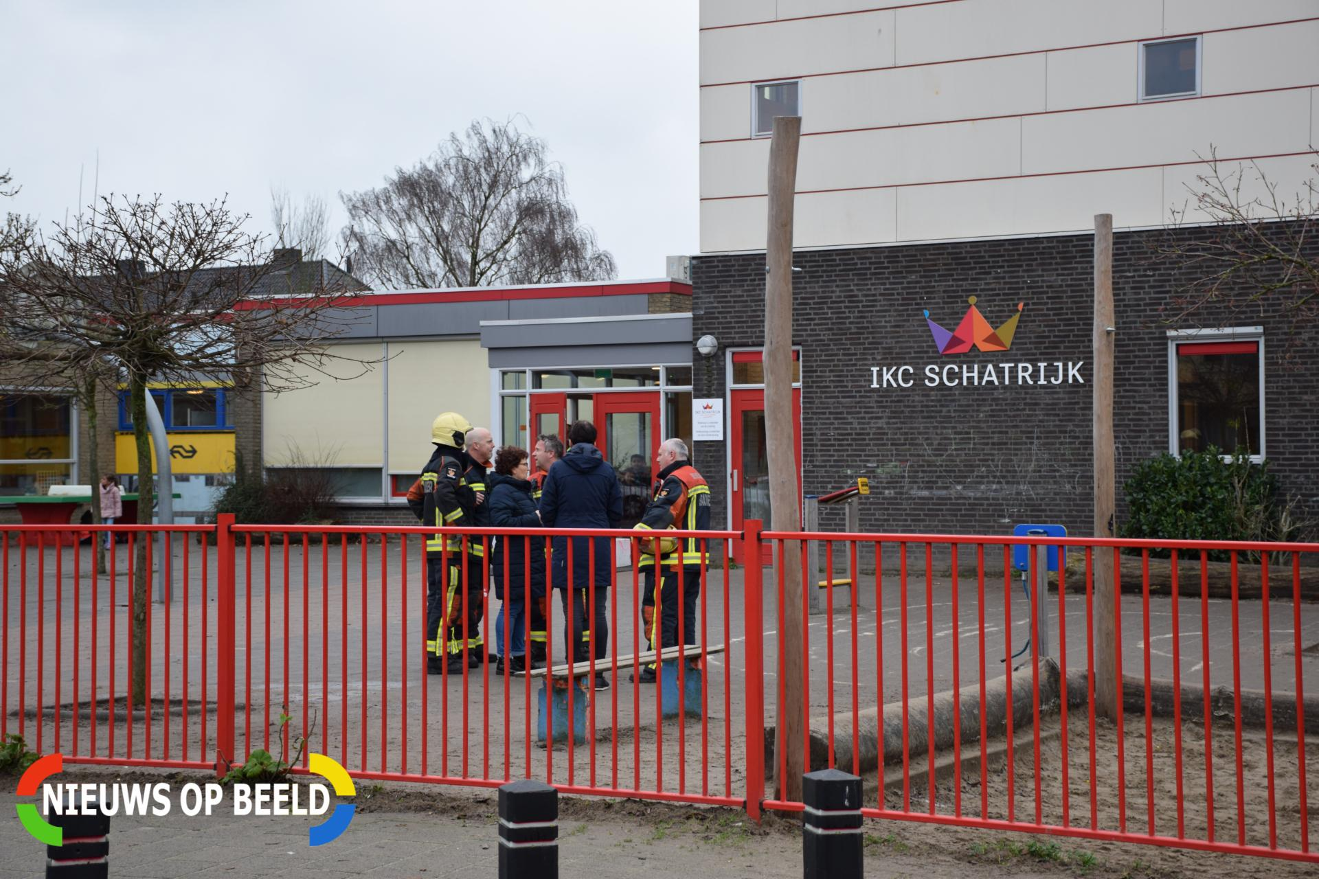 Basisschool IKC Schatrijk ontruimd na gaslek Eendrachtsweg Bodegraven