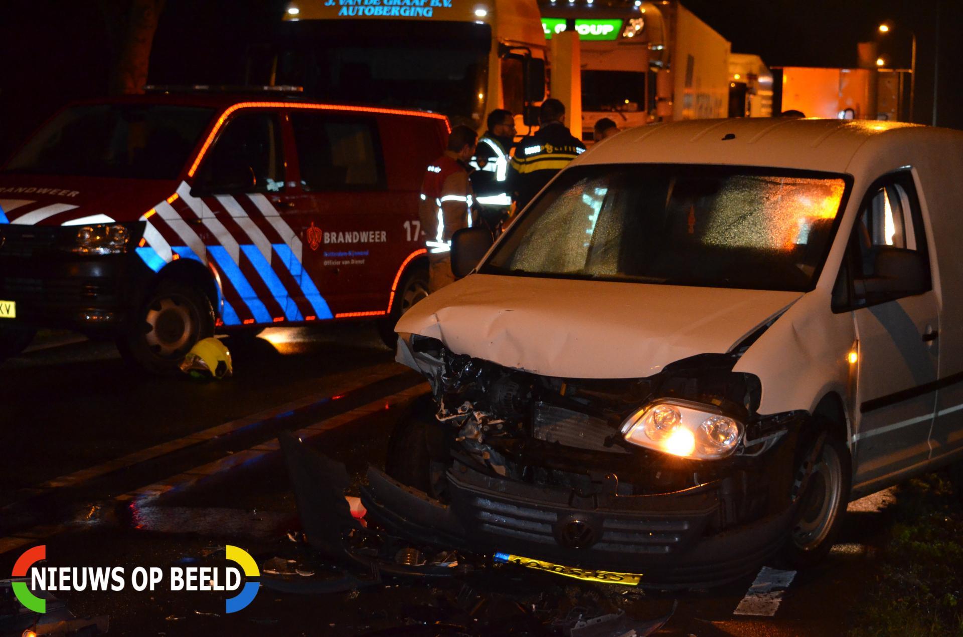 Gewonden en forse schade na aanrijding Overbuurtseweg – N209 Bleiswijk
