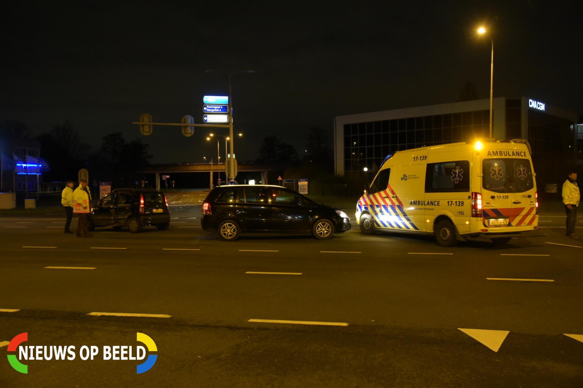 Schade en lichtgewonden na aanrijding Groene Kruisweg – S102 Rhoon