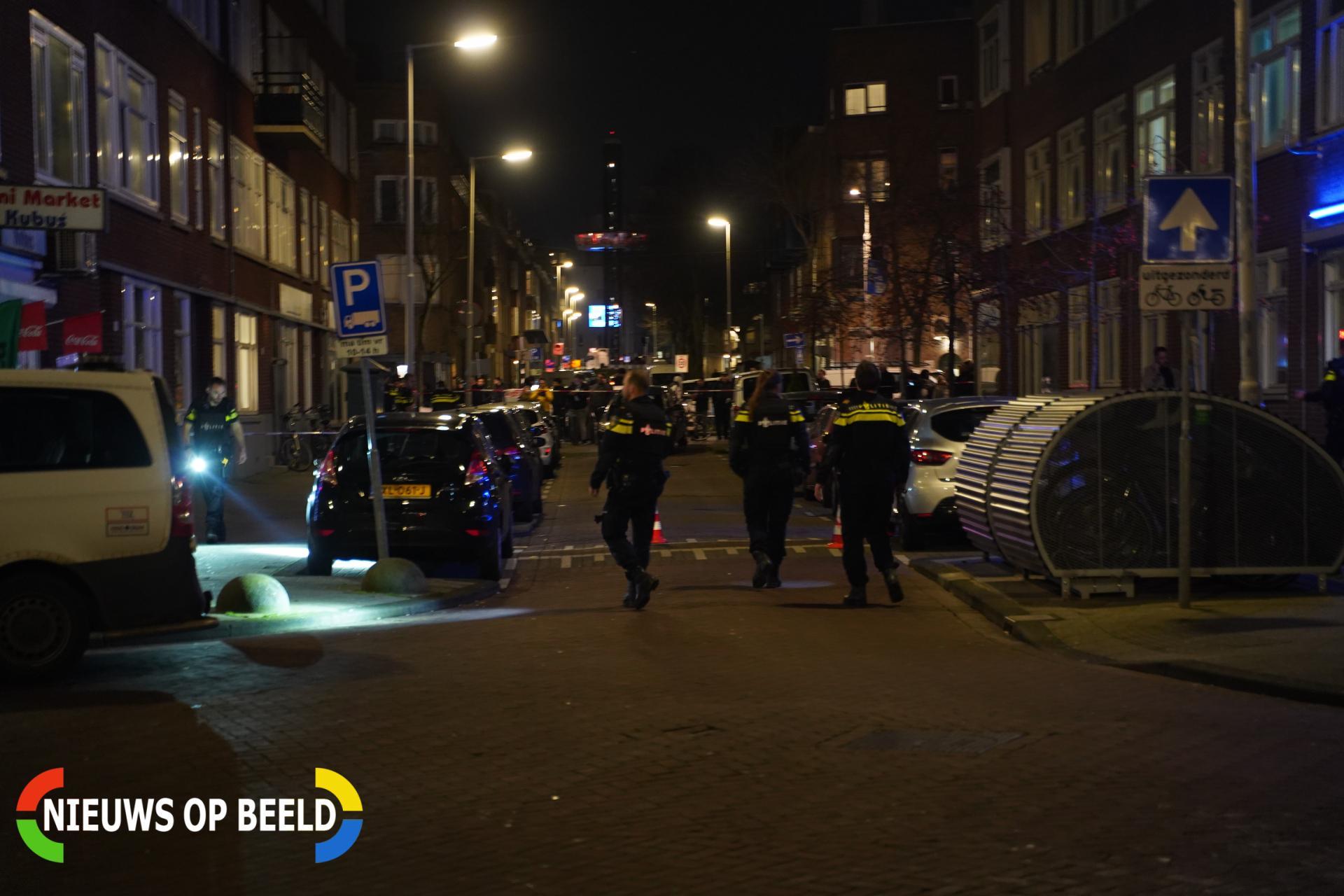 Verdachte van schietincident aangehouden Bas Jungeriusstraat Rotterdam