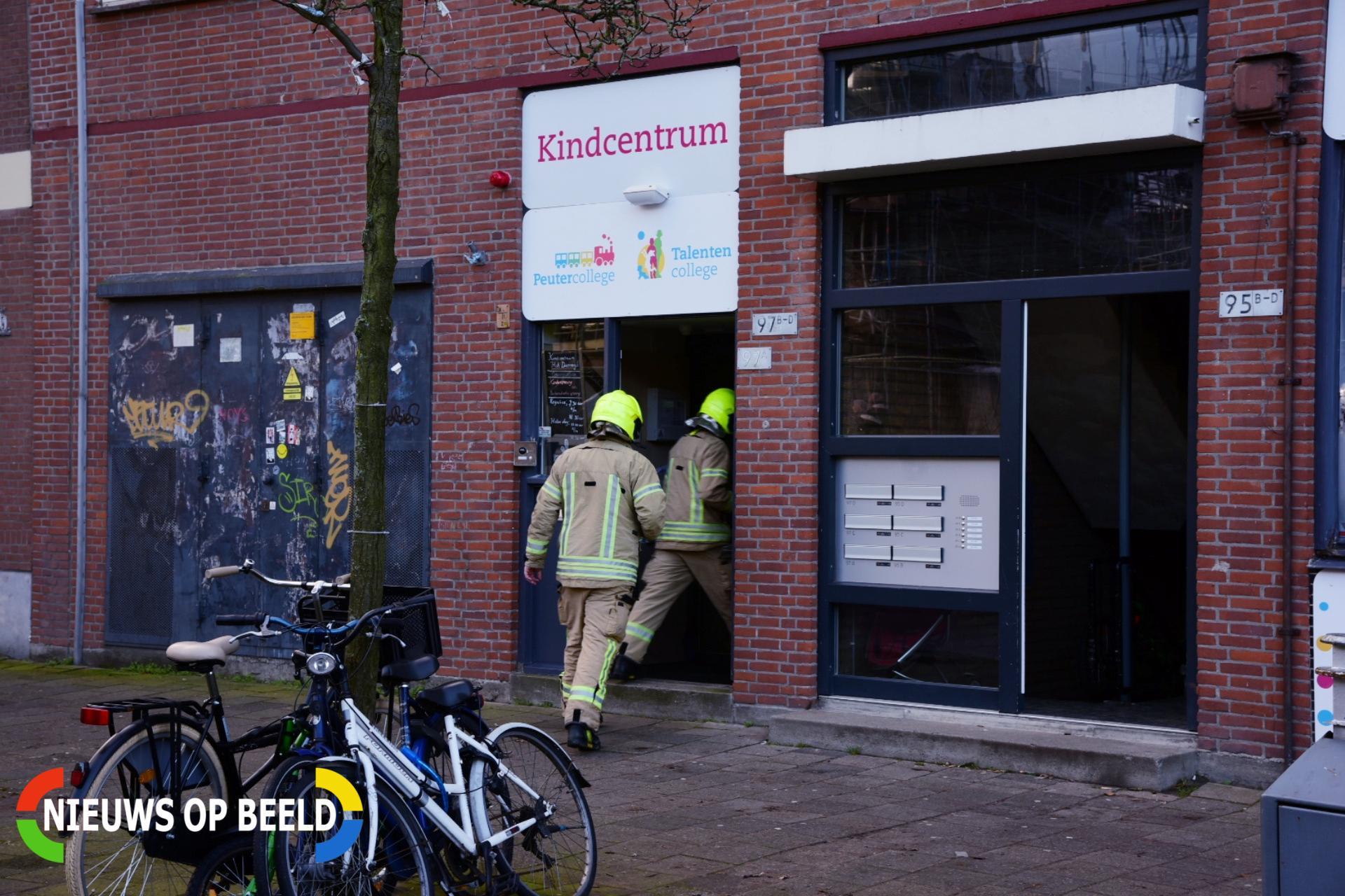 Woningen en kinderdagverblijf ontruimd na verhoogde concentraties koolmonoxide Hilledijk Rotterdam