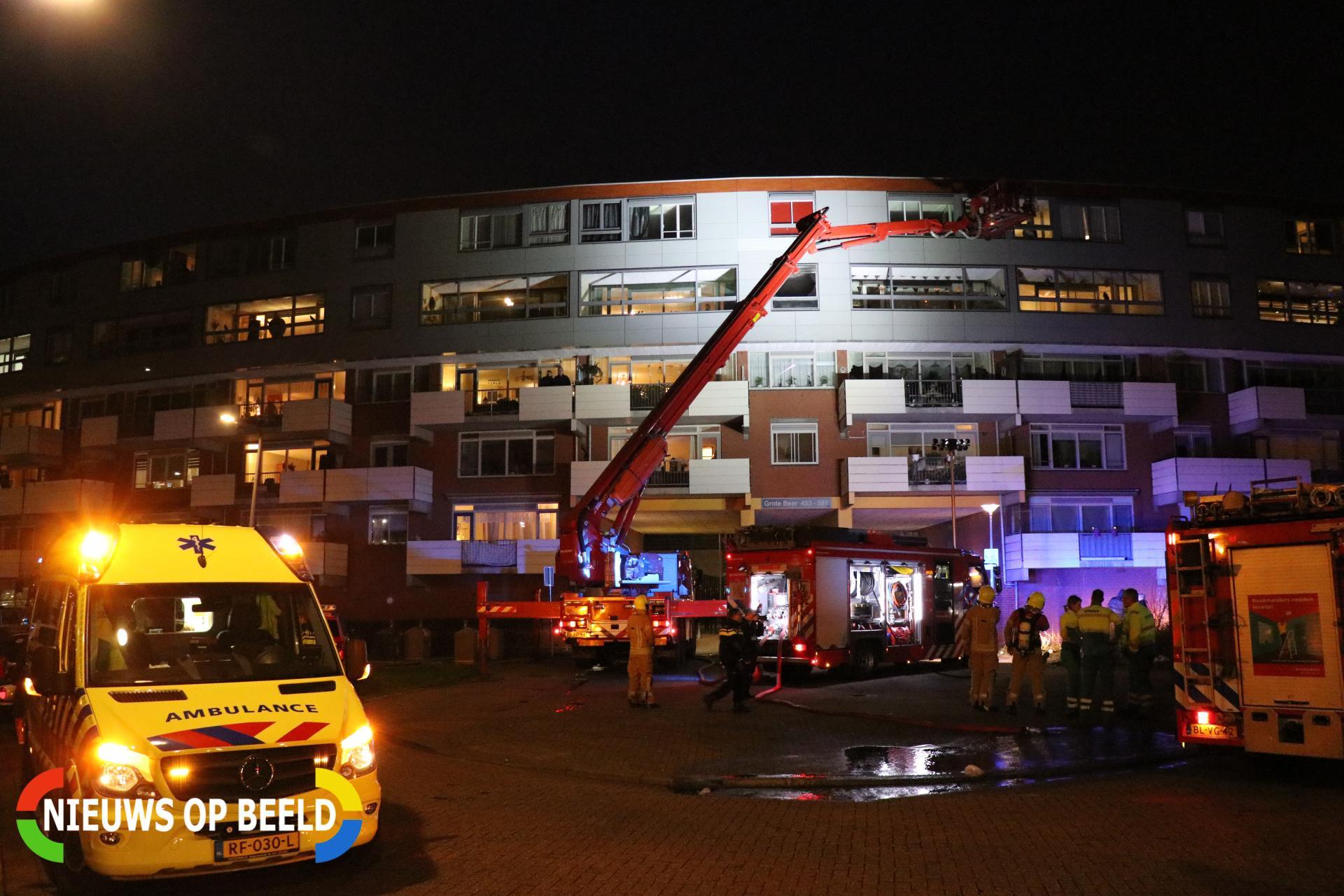 Brand Grote Beer Rotterdam aangestoken, politie start groot onderzoek