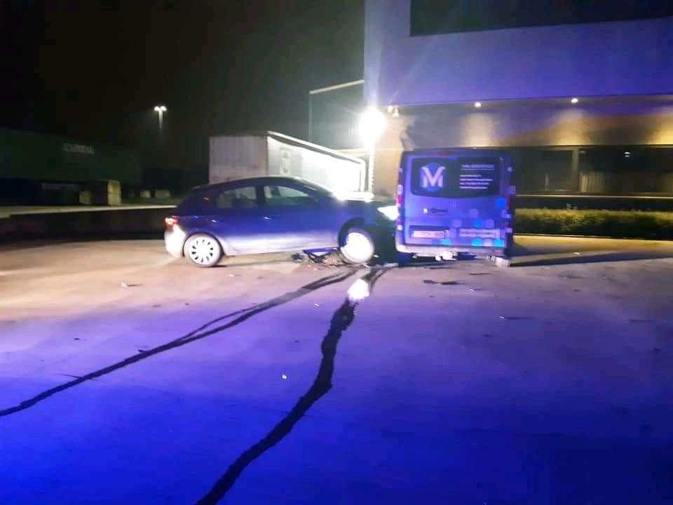 Achtervolging vanuit Dordrecht eindigd met crash in België