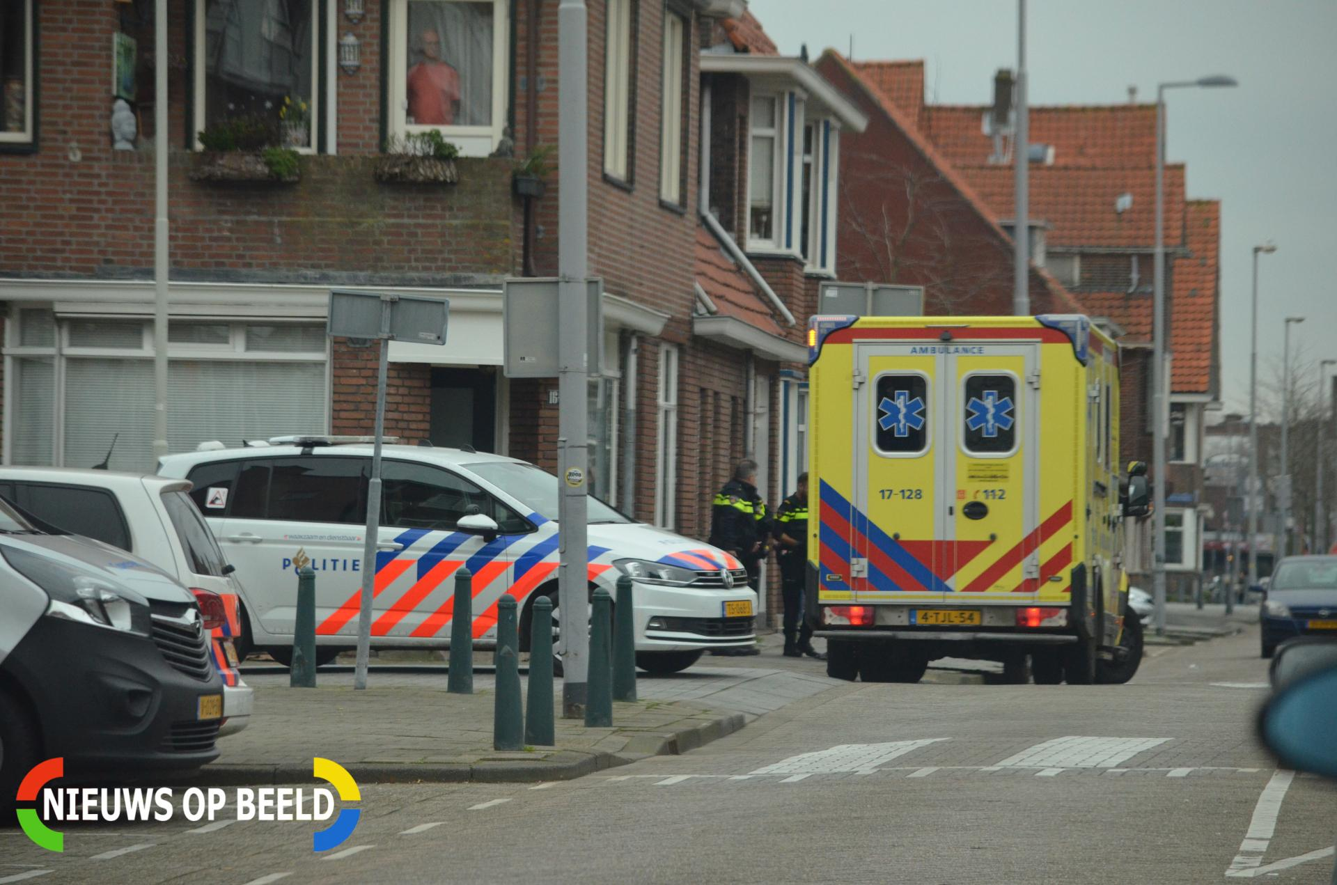 Gewonde na steekpartij Pieter van Aschstraat Rotterdam