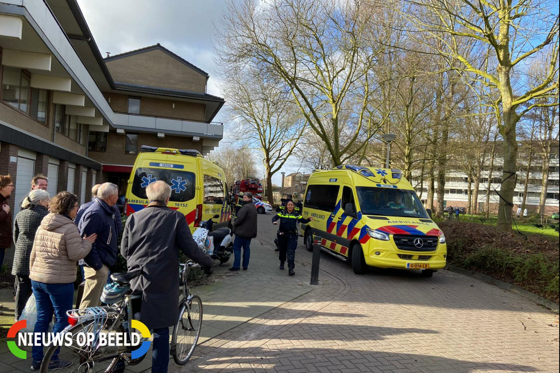 Persoon gewond bij ongeval in woning Catsveld Gouda