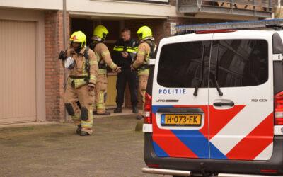 Grote inzet van hulpdiensten en een arrestatie Josephus Jittastraat Rotterdam