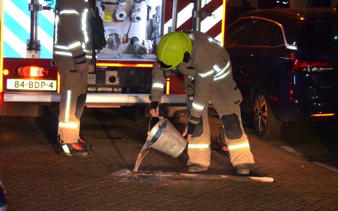 Brandje in keuken snel geblust Ringdijk Rotterdam
