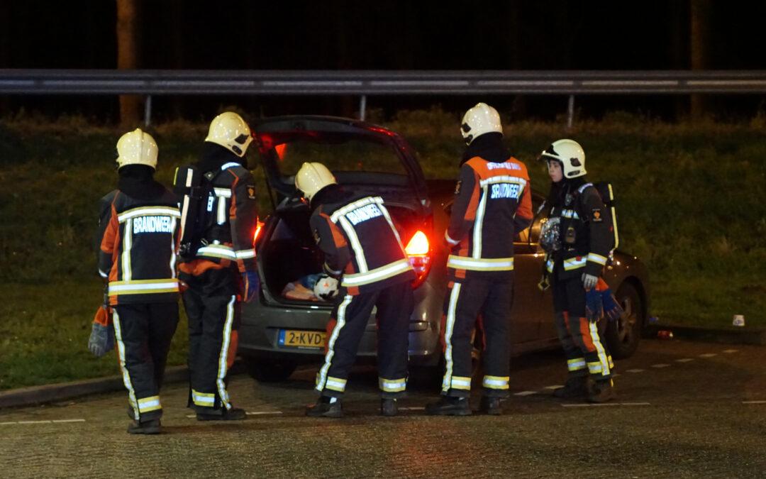 Sissend geluid tijdens tanken gas Rijksweg A12 Bodegraven