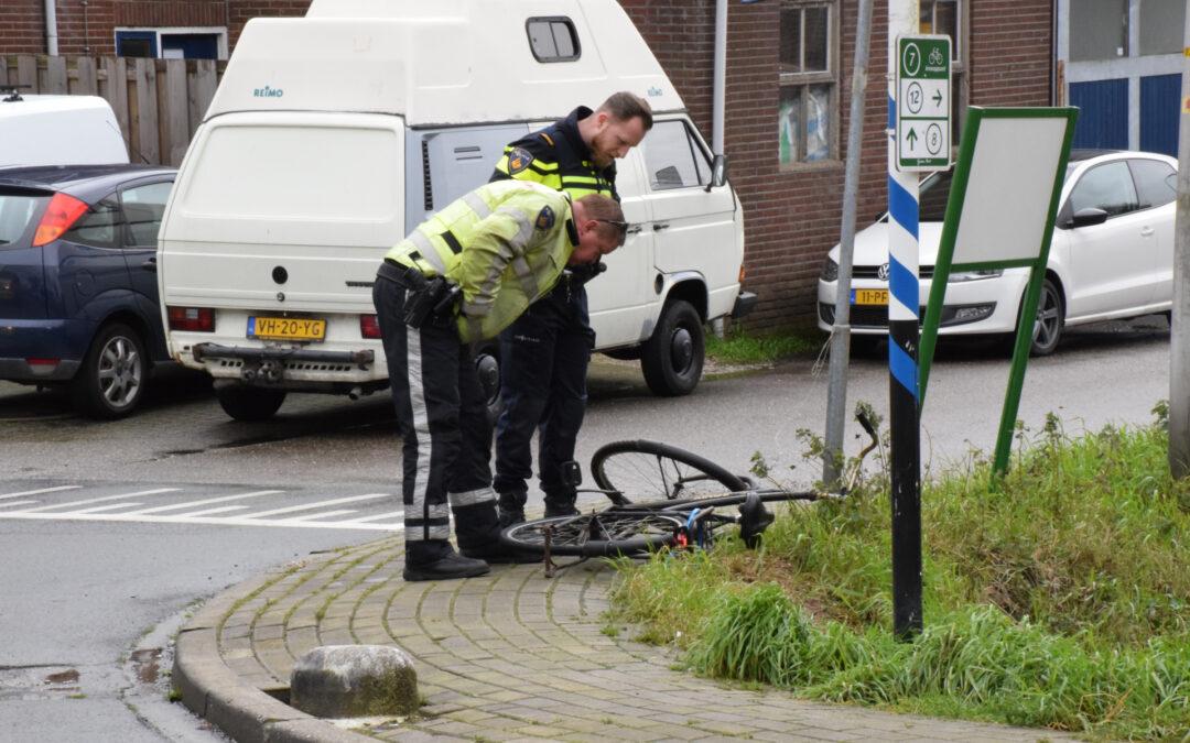 Fietsster gewond bij aanrijding Bredeweg Moerkapelle