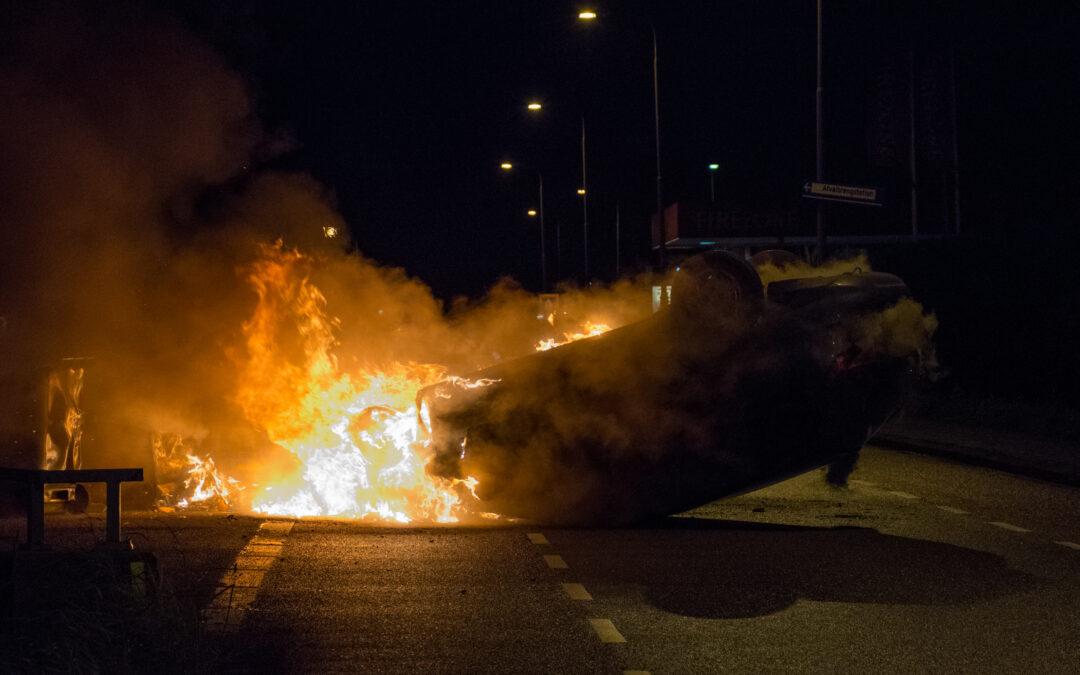 Automobilist ontsnapt aan de dood na eenzijdig ongeval in Nootdorp