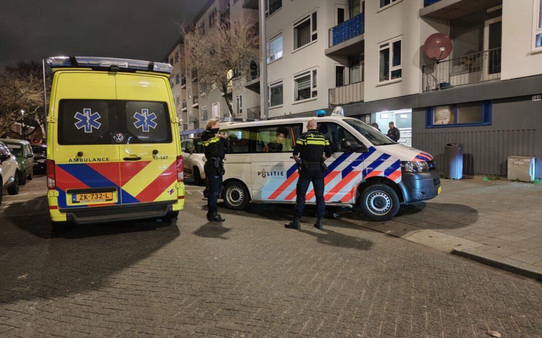 Ruzie in woning doet hulpdiensten groots uitrukken Homerusstraat Rotterdam