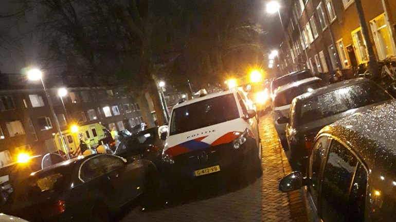 Twee gewonden na ruzie in woning Goereesestraat Rotterdam