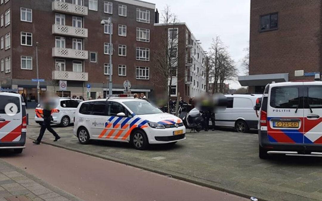 Foutparkeerder in de boeien na agressief gedrag in Rotterdam