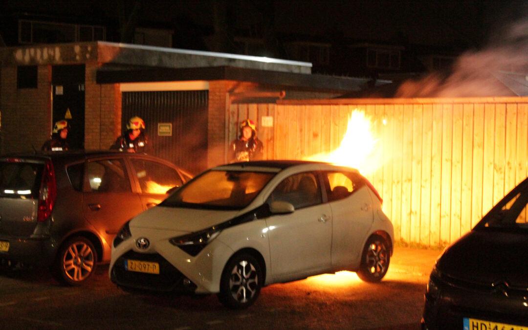 Verdachte aangehouden voor autobranden Waddinxveen