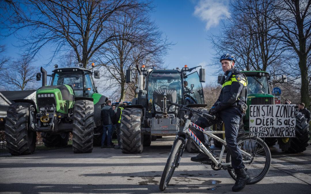 Boerenprotest Den Haag eindigt met ME-optreden