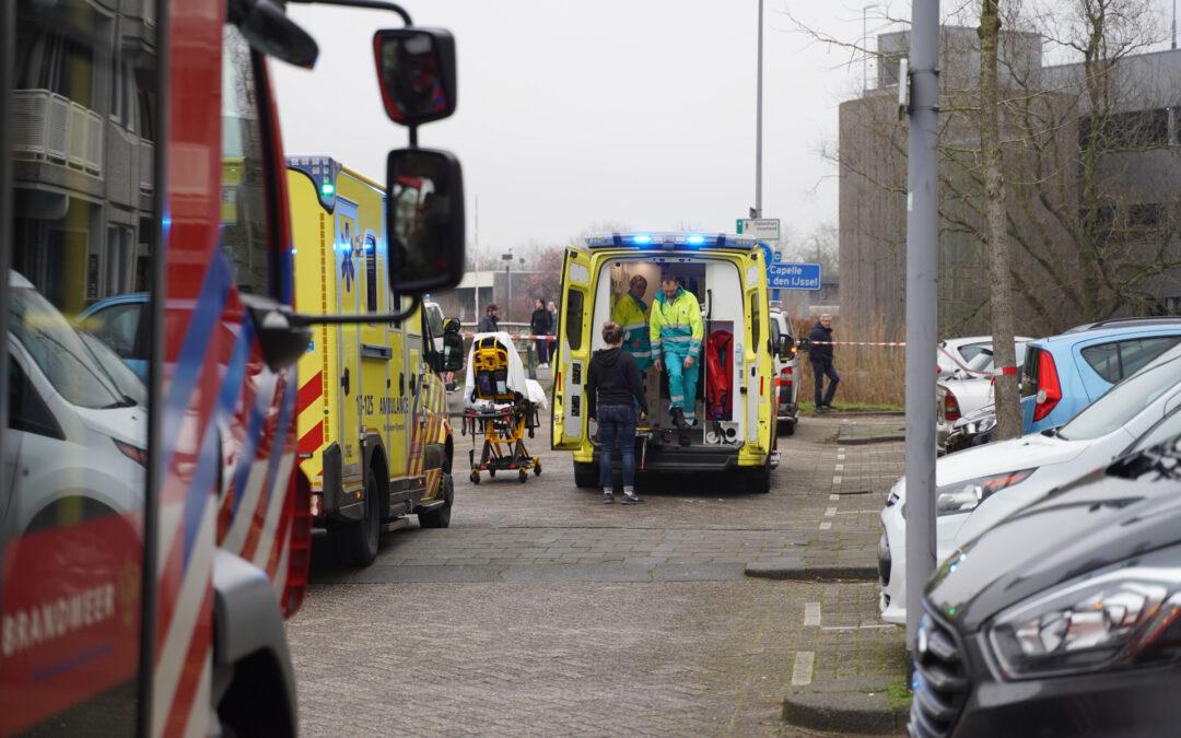 Meerdere gewonden bij woningbrand Duisburghof Rotterdam