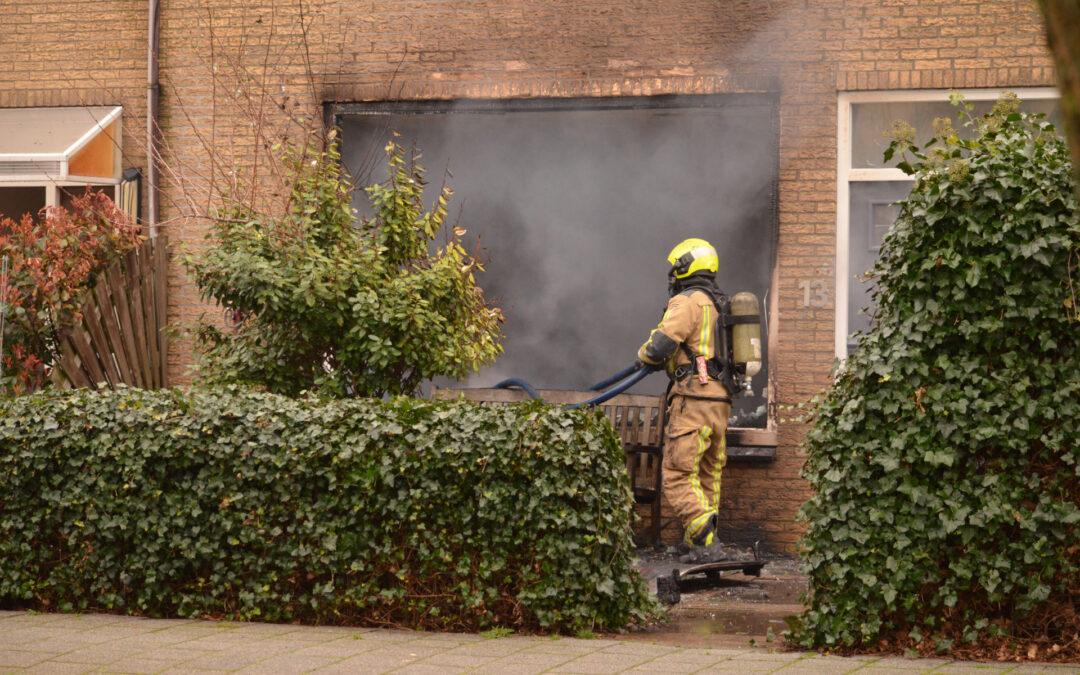 Veel rook bij uitslaande woningbrand Marijkelaan Bleiswijk