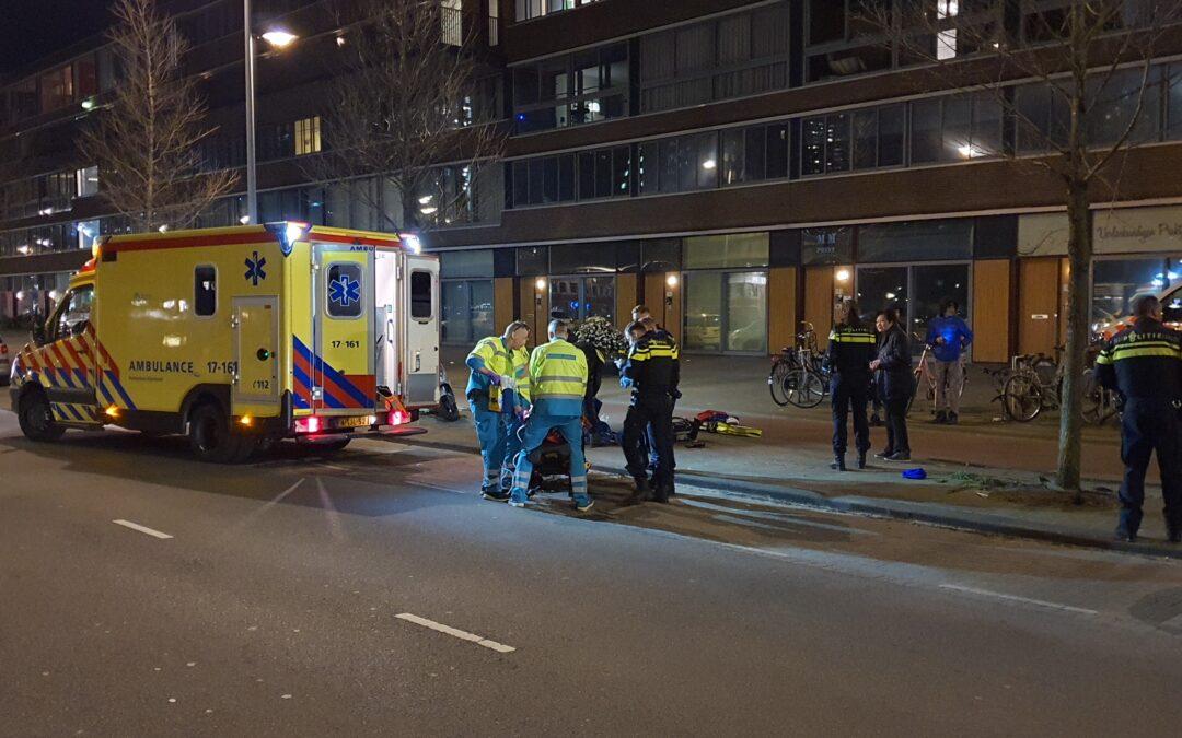 Scooterrijder zwaargewond na eenzijdig ongeval Maashaven Oostzijde – S122 Rotterdam