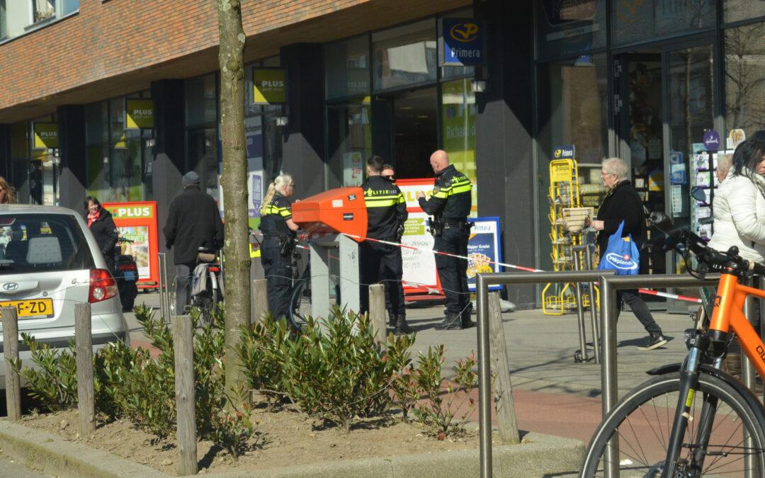 Man aangehouden na overval op winkel Burgemeester Baumannlaan Rotterdam