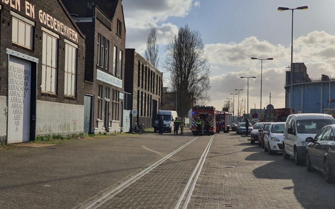 Brand in bedrijfspand Keileweg Rotterdam