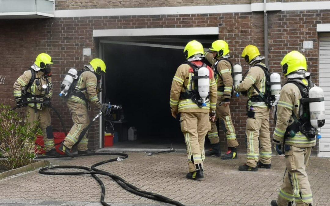 Man ernstig gewond na brand in kelderbox Kierkegaardstraat Rotterdam