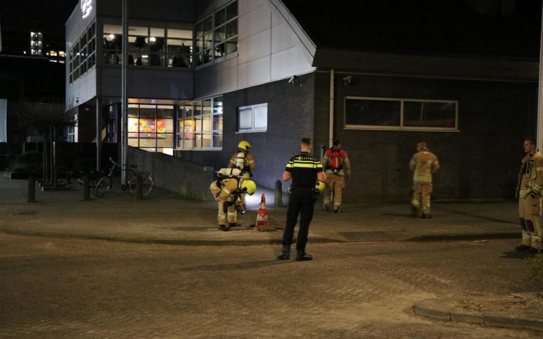 Gaslucht blijkt riool te zijn P.C. Boutenssingel Capelle aan den IJssel
