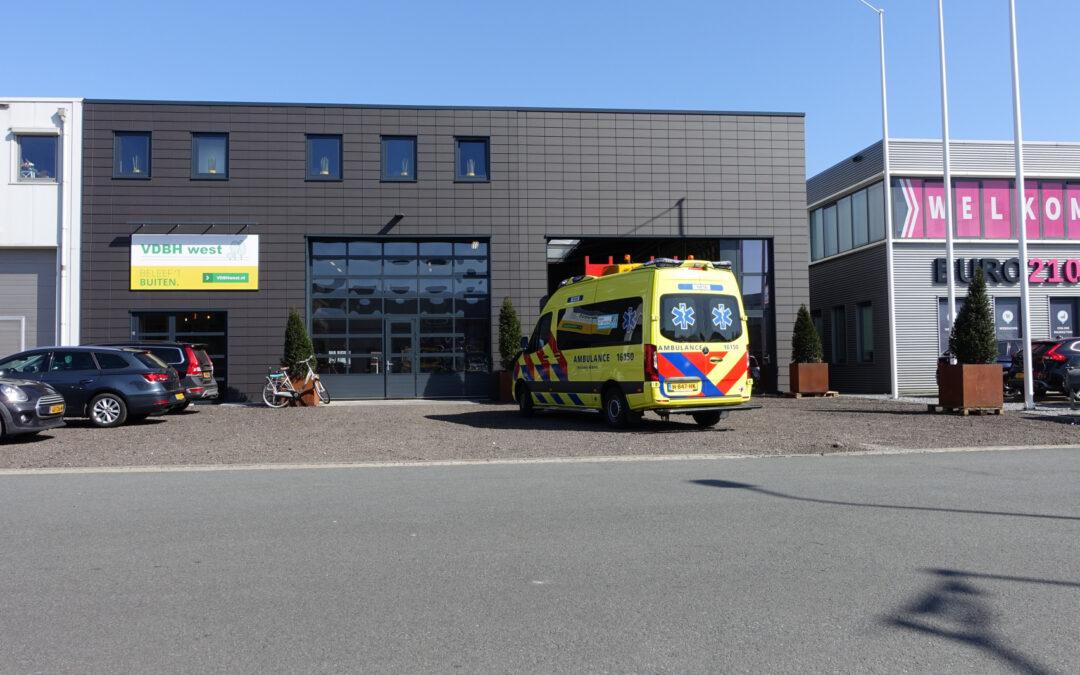 Persoon gewond aan voet bij bedrijfsongeval Nijverheidsweg Stolwijk