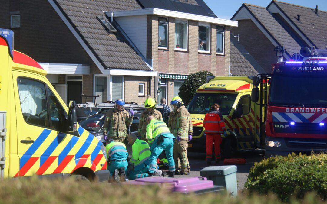 Fietser zwaargewond na aanrijding Kerkweg Zuidland