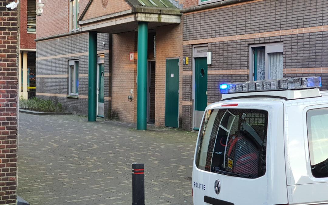 Incident in flatwoning Baanstraat Schiedam
