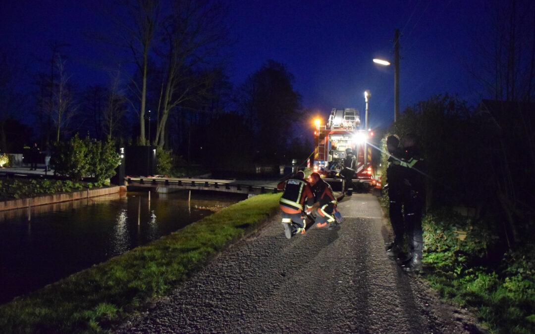 Uitslaande brand in nieuwbouw woning Platteweg Reeuwijk