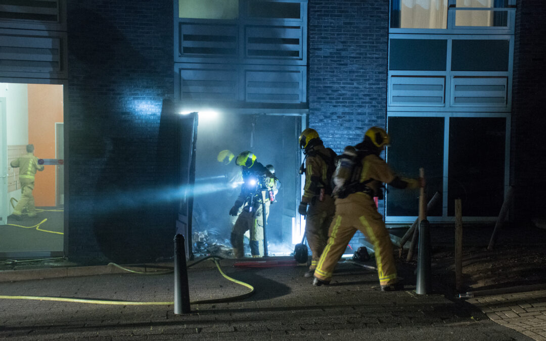 Brandalarmen gaan niet af tijdens zeer grote brand in Haagse studentenflat