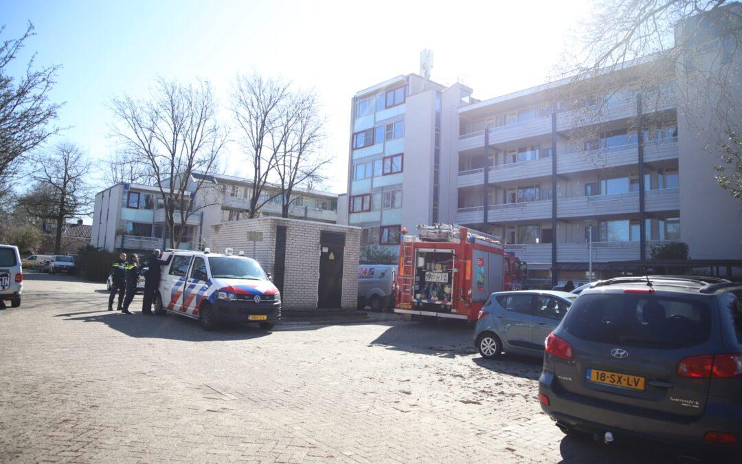 Man aangehouden na brandmelding Akeleistraat in Gouda