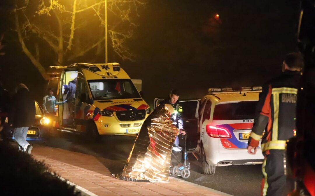 Gewonde na brand in kamer van zorginstelling Fluwelensingel Gouda