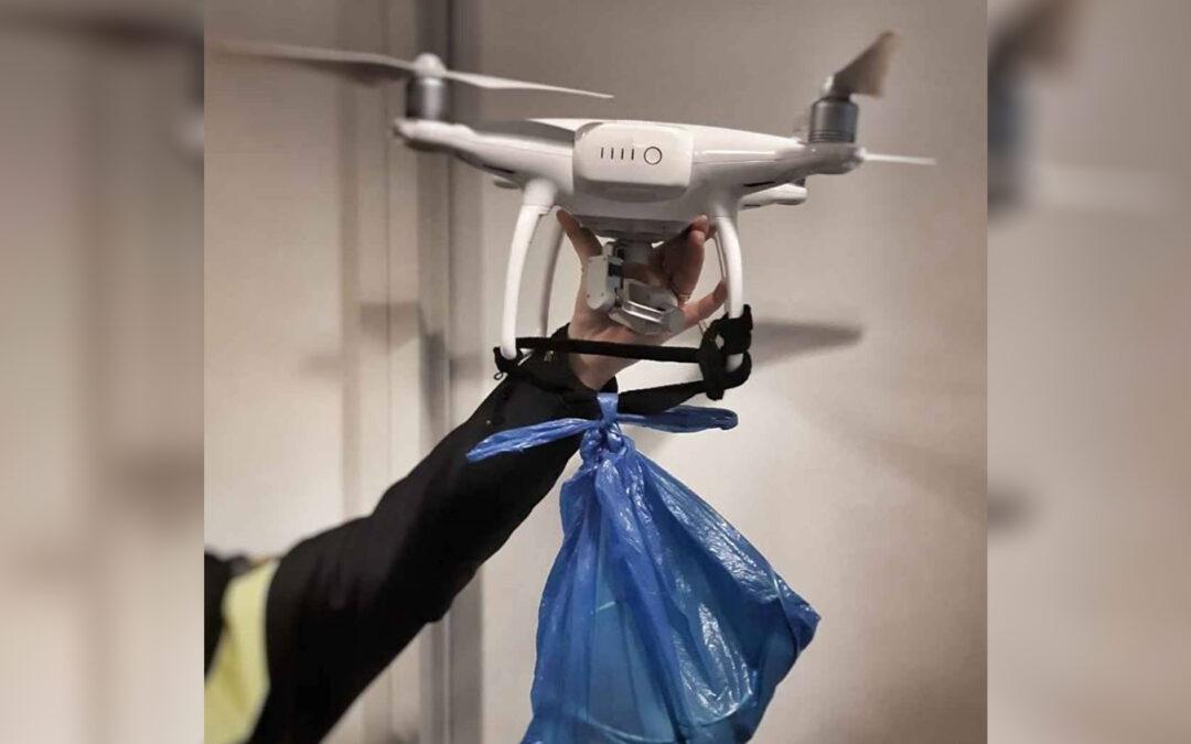 Drie verdachten aangehouden na smokkel met drone in Dordtse gevangenis