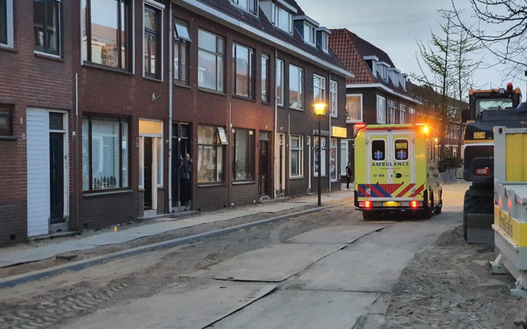 Medische noodsituatie in woning Sweelinckstraat Vlaardingen