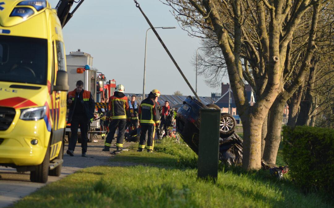 Automobilist komt om het leven bij ongeval Henegouwerweg – N207 Waddinxveen