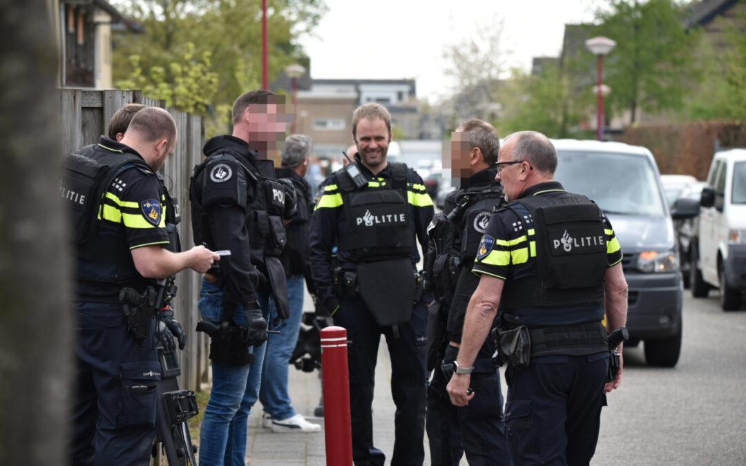 Team Paraatheid valt woning binnen Kloosring Oud-Beijerland