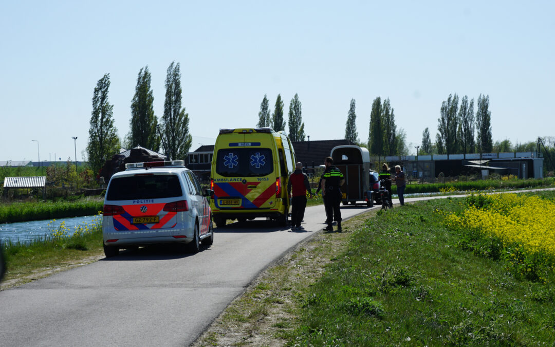 Man raakt gewond na ongeval Oost Ringdijk Gouda