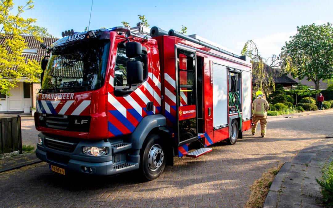 Struiken in brand tijdens barbecueën Ghijseland Rhoon