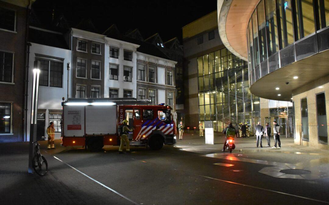 Vrouw aangehouden voor brandstichting Tweede Kamer gebouw