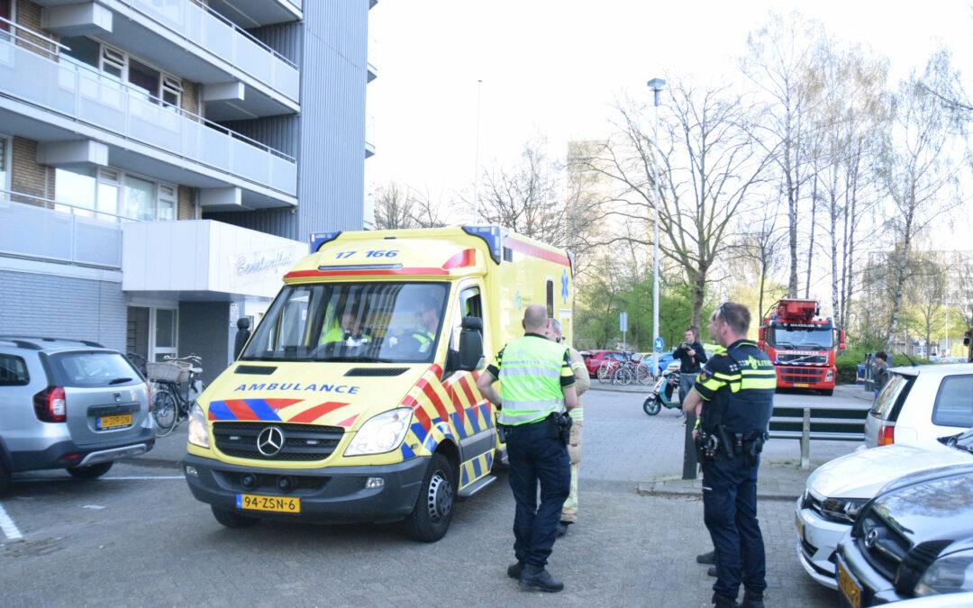 Gewonde bij brand in appartement Chopinplein Schiedam