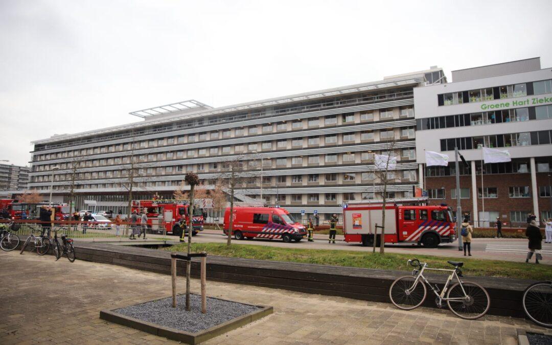 Hulpverleners houden hartverwarmende actie bij Groene Hart Ziekenhuis